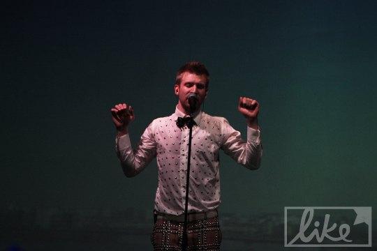 На следующий день Иван Дорн презентовал альбом в Москве