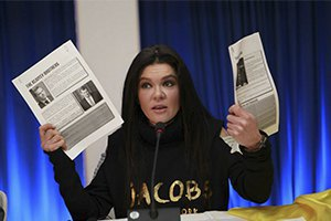 Руслана на конференции в Сан-Паулу говорила о возрождении Украины