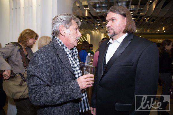 Олесь Санин и Андрей Халпахчи