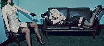 Мадонна и Кэти Перри предстали в латексе и с плетками