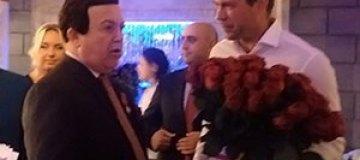 Кобзон отпраздновал день рождения с Царевым