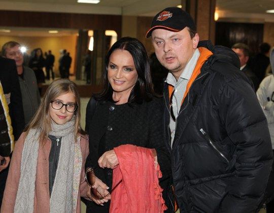 София Ротару с сыном и внучкой