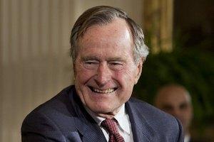 Джордж Буш-старший завел Twitter