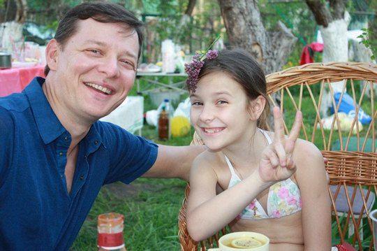 """Олег Ляшко:""""Моя 9-летняя дочка Владислава - мое самое большое счастье! Ежедневно благодарю Бога за нее!"""""""