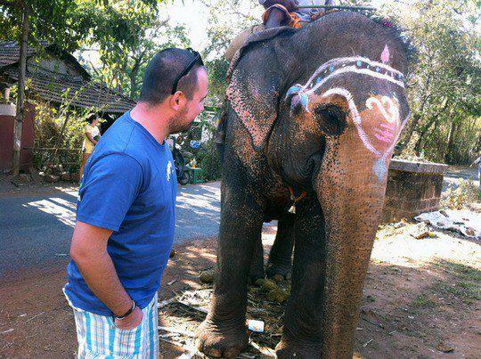 Антон Лирник в Индии