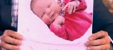 Шатунов показал фото новорожденной дочери
