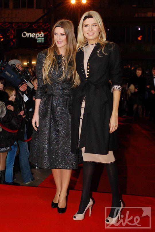Ольга Горбачева (справа) с подругой
