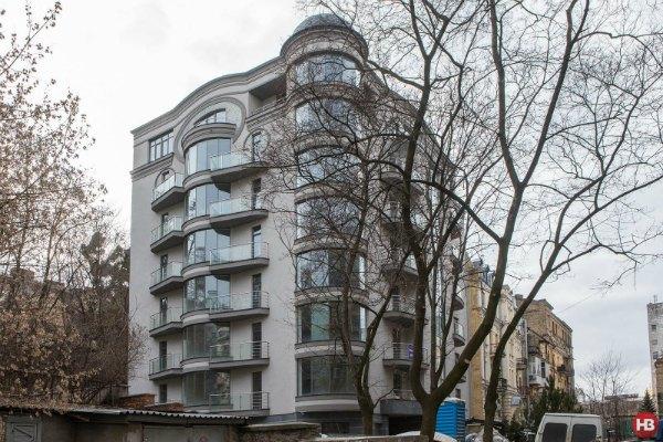 Дом клубного типа, в котором приобрел жилье Сергей Лещенко