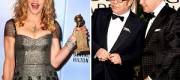 """Мадонна и Элтон Джон не поделили """"Золотой глобус"""""""