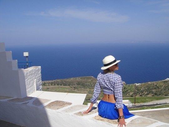 Валерия Крук в Греции