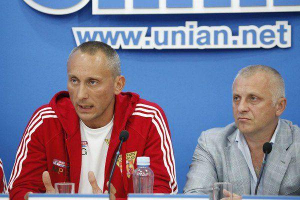 Игорь Кучеренко (слева)