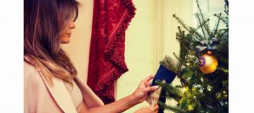 Мелания Трамп начала подготовку к Рождеству