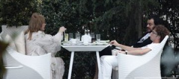 Пугачева поужинала с Галкиным и Киркоровым