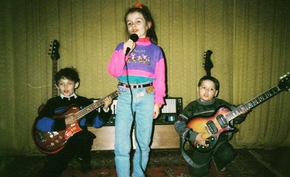 Эрика, она же - MamaRika, пела с детства