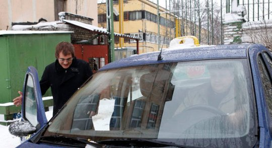 Какое-то время Дибров будет ездить на такси