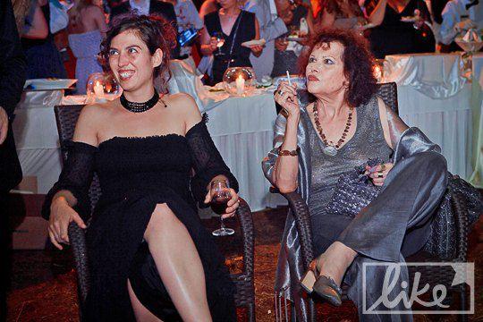 Актриса Клаудиа Кардиналле тоже посетила вечеринку