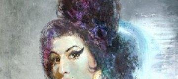 Портрет Эми Уайнхаус кисти украинского художника продали в Лондоне