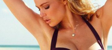 Даутцен Крус снялась в купальниках Victoria's Secret