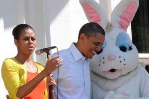 Обама устроил пасхальные игры в Белом доме