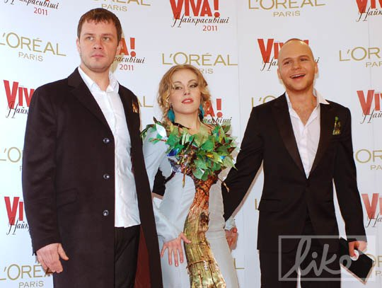 Вадим Лисица, певица Alyosha и Влад Дарвин