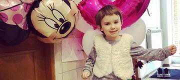 Тоня Матвиенко и Арсен Мирзоян поздравили дочь с днем рождения
