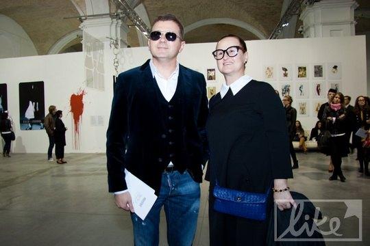 Юрий Горбунов с супругой