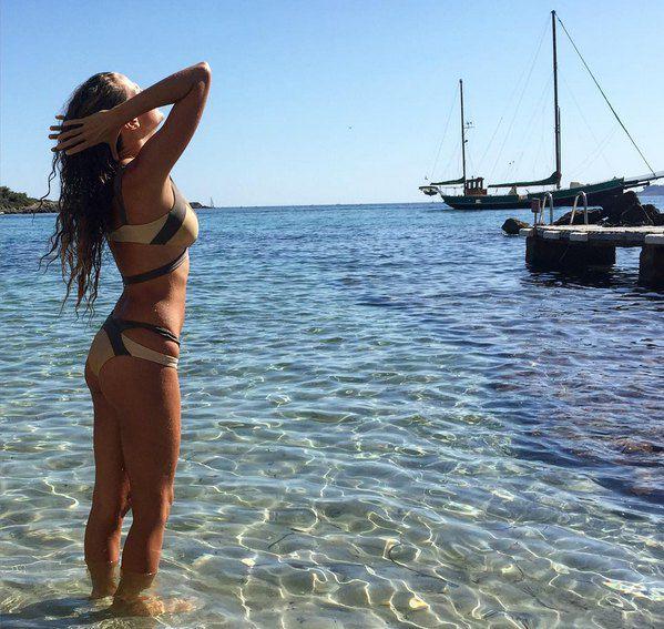 Почти все время после рождения дочки Инна проводит у моря