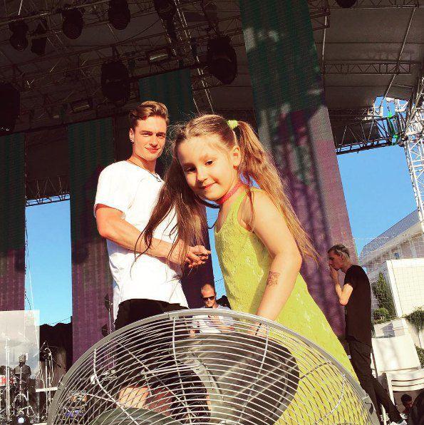 Ева на концерте Лободы в Турции
