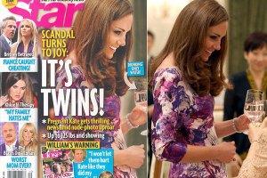 """Американский журнал """"нарисовал"""" Кейт Миддлтон беременность"""