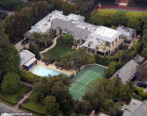 Дом Мадонны в Беверли-Хиллз