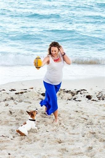 Жанна Фриске показала беременные снимки