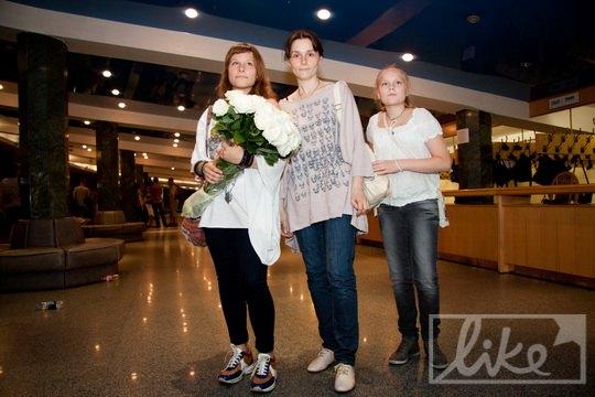 Оксана Арбузова с дочками