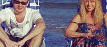 Сын Повалий показал маму на пляже