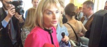 """Жена генпрокурора Ирина Луценко выгуляла в Раду """"лабутены"""""""