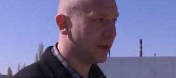 Лысый Дорн сбежал от киевских журналистов