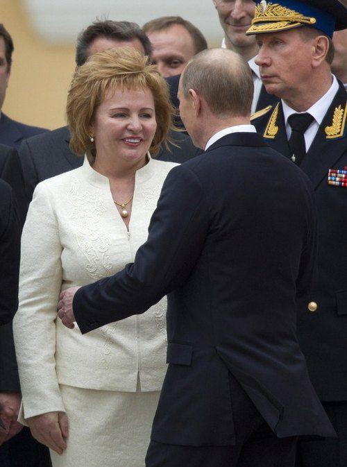 Путины в мае 2012 года