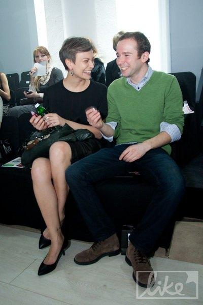 Главный редактор Vogue Маша Цуканова