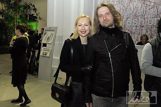 Телеведущая Екатерина Виноградова со спутником