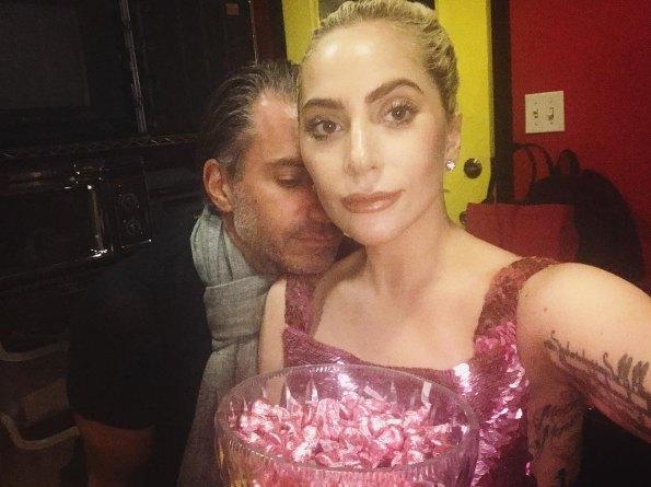 Леди Гага с Кристиано Карино
