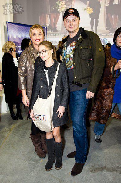 Руслан и Светлана Евдокименко с дочерью
