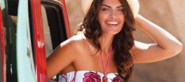 Алисса Миллер в рекламе белья Ay Yildiz