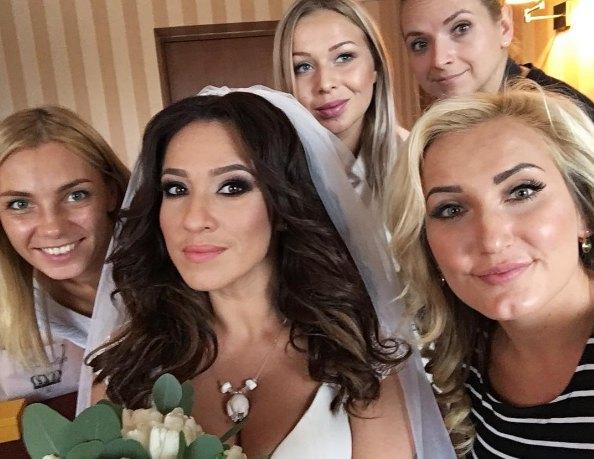 35-летняя Наталка Карпа впервые вышла замуж