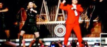 """Мадонна станцевала """"Gangnam Style"""""""