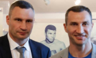 Виталий Кличко поблагодарил маму за брата