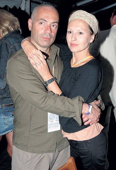 Михаил Грушевский и Ирина Миронова