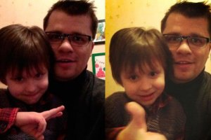 Гарик Харламов показал сына