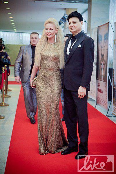Камалия с мужем Захуром