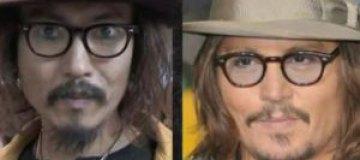Джонни Депп в Японии наткнулся на своего двойника