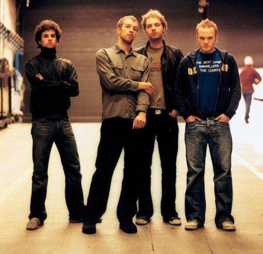 Лучшей британской группой стала Coldplay