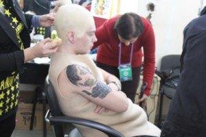 Кривошапко сделал новую татуировку